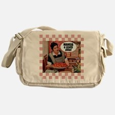 Mangia e Statti Zitto Messenger Bag