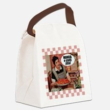 Mangia e Statti Zitto Canvas Lunch Bag