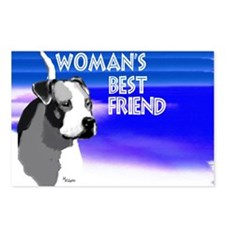 Cute Pitbull s Postcards (Package of 8)