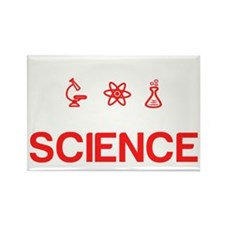 Im going to try science Rectangle Magnet