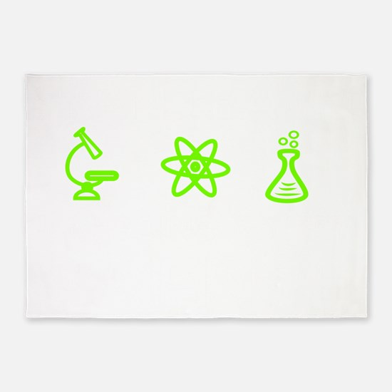 Im going to try science! 5'x7'Area Rug