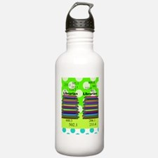 librarian ff 4 Water Bottle