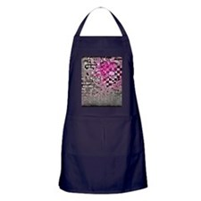 Punk You 7 Hearts Skull Apron (dark)