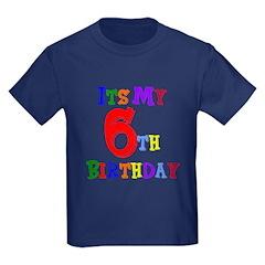 6th Birthday T