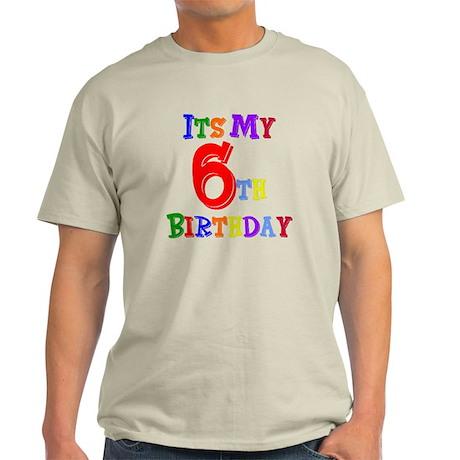 6th Birthday Light T-Shirt