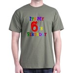 6th Birthday Dark T-Shirt
