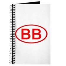 BB Oval (Red) Journal
