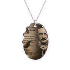 Edgar Allan Poe and Raven Neve Necklace