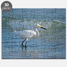 Snowy egret Puzzle