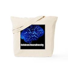 celebrate-neurodiversity-blue-frame Tote Bag