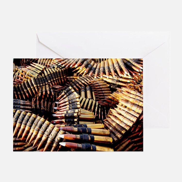 Bullets Greeting Card