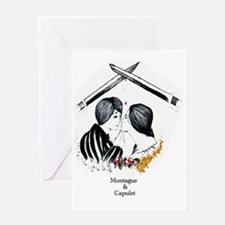 Montague and Capulet Greeting Card