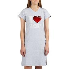 I Heart Stuart Island Women's Nightshirt