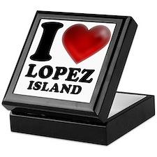 I Heart Lopez Island Keepsake Box