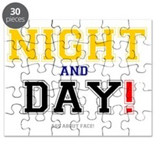 NIGHT AND DAY - ASS ABOUT FACE! Puzzle