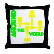 limeyellow ATW 5 Throw Pillow