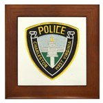 Charleston Police Framed Tile