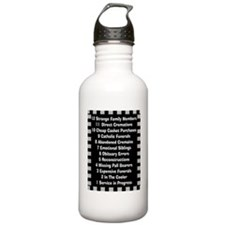 Funny Funeral Director Water Bottle