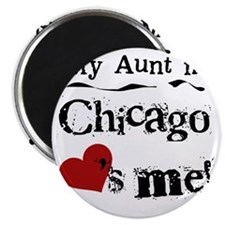 Aunt Chicago Magnet