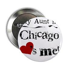 """Aunt Chicago 2.25"""" Button"""
