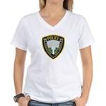 Charleston Police Women's V-Neck T-Shirt