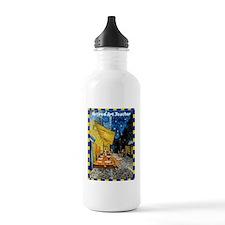 Retired art teacher VG Water Bottle