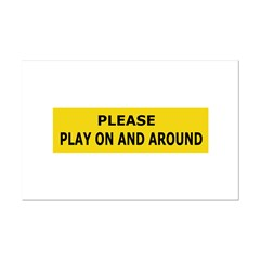 Play On & Around Posters