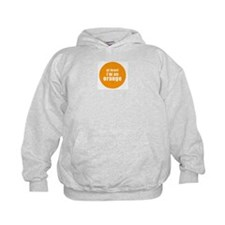 I'm an orange Kids Hoodie
