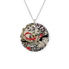 Uke Time Necklace Circle Charm