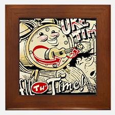 Uke Time Framed Tile
