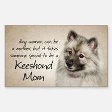 Keeshond Mom Decal