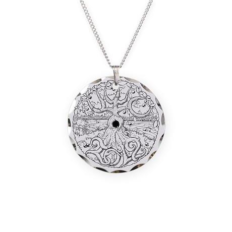 UWC 2012 Necklace Circle Charm
