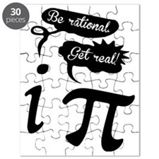 Be rational, Get real! Geek Humor Puzzle