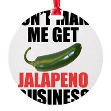 Jalapeno Business Ornament