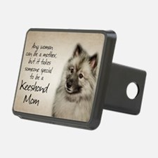 Keeshond Mom Hitch Cover