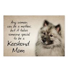 Keeshond Mom Postcards (Package of 8)