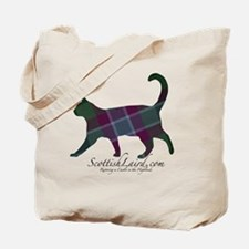 The Dunans Tartan Cat Tote Bag