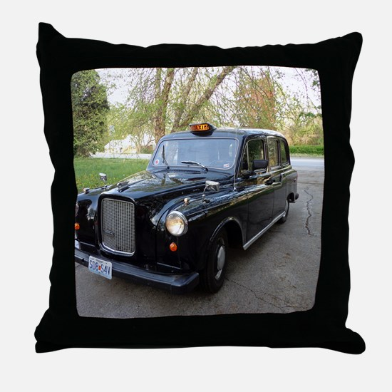 Londons Carriage Throw Pillow