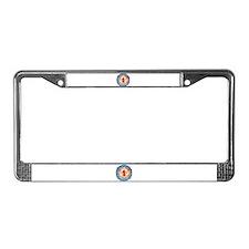 #1 Grandpa License Plate Frame