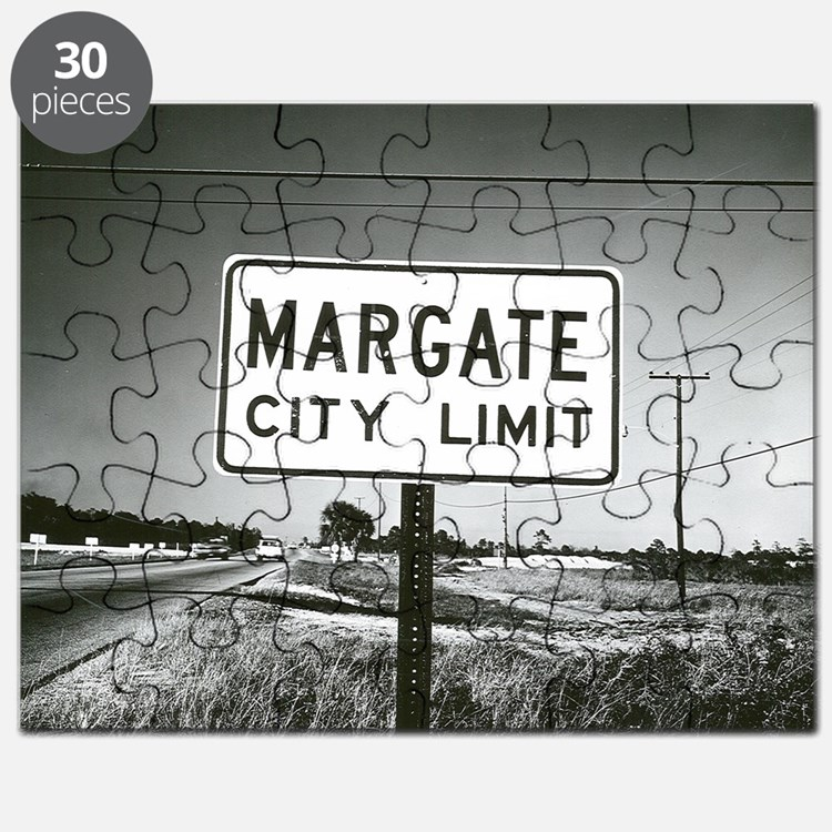 Margate City Limits Street Sign Puzzle