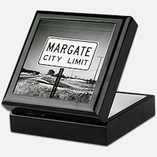Margate City Limits Street Sign Keepsake Box
