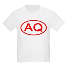 AQ Oval (Red) T-Shirt