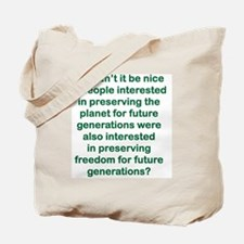 WOULDNT IT BE NICE IF PEOPLE INTERESTED Tote Bag