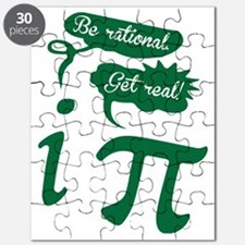 Be rational, Get real! Pi Humor Puzzle
