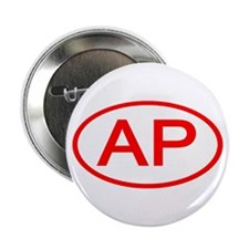 AP Oval (Red) Button