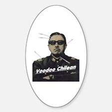 Voodoo Chilean Oval Decal
