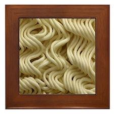 Ramen Noodle Framed Tile