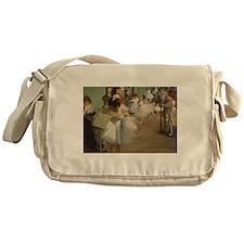 Degas Dance Class Ballet Dancers Messenger Bag