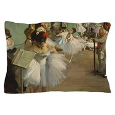 Degas Dance Class Ballet Dancers Pillow Case