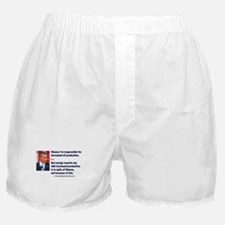 Pinocchio says he increased oil Boxer Shorts